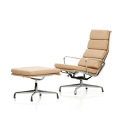Lounger 'Soft Pad Chair EA 222' in Leder
