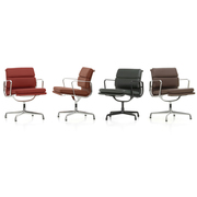 Soft Pad Chair 'EA 208' in Leder