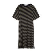 Fliessendes Streifen-Shirtkleid von 'Closed'