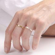 Feiner Ring 'Circles Flat Pearl'