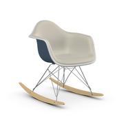 Schaukelstuhl 'Eames Plastic Armchair' mit Vollpolster
