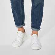 Puristischer Leder-Sneaker