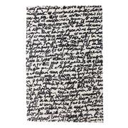 Handgetufteter Teppich 'Manuscrit'
