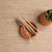 Teppich 'Herb' in soften Farben