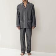 Geschenk für Ihn: Baumwoll-Pyjama von 'Zimmerli'