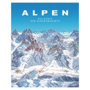 Die Kunst der Panoramakarte 'Alpen'