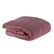 Bettüberwurf aus Baumwolle