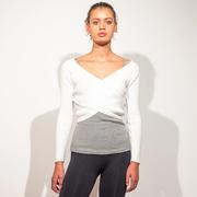 'Crossed Knit Top' von lola studio