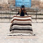Peruanischer Teppich aus Alpakawolle
