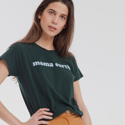 Fairfashion-T-Shirt 'Mamma Earth'