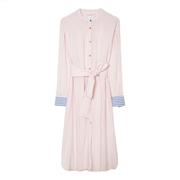 Gestreiftes Hemdblusenkleid von 'PS Paul Smith'