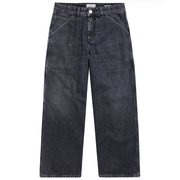 Schwarze Culotte-Denim 'Closed'