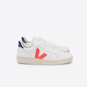 Veja-Sneaker 'V-10 Orange Fluo Cobalt'