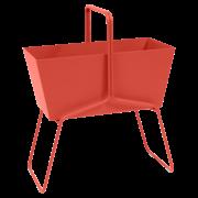 Bunter Blumentopf 'Basket'