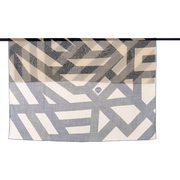 Woll-Foulard 'Brushed Stripe'