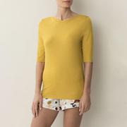 Anschmiegsames Shirt von 'Zimmerli' in Gelb