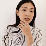 Artisanaler Ring 'Flow' von Hana Kim