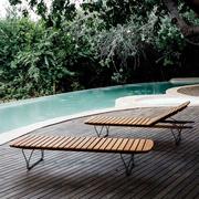 Sonnenliege 'Molo' aus Bambus