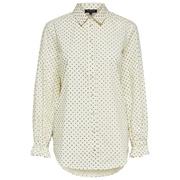 Leichte Tüpfli-Bluse aus Biobaumwolle