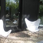 'Butterfly Chair' für den Garten