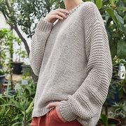 Slow Fashion: Oversize Stricksweater 'Nida'