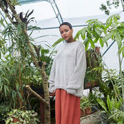Sweater 'Nida' in Light Grey oder Sand Dune