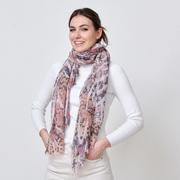 Nachhaltiger Schal mit Animalprint