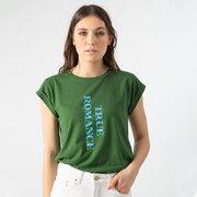 Statement-T-Shirt von 'Soeur' in Grün