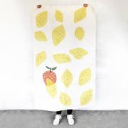 Süsser Baumwollteppich 'Citron'