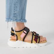 Sandale mit weicher Profilsohle