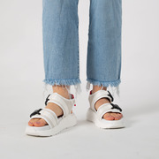 Sandale mit weicher Profilsohle in Offwhite