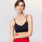 Sport.les for Live the Process: 'Corset Bra Black'
