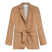 Goldbeiger Leinenmix-Blazer von 'Closed'