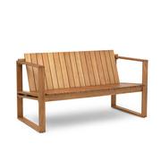 Outdoor-Lounge-Sofa aus Teak