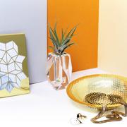 Kristall-Vase 'Regenbogen'