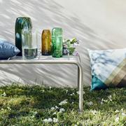 5er Vasen-Set aus Glasflaschen