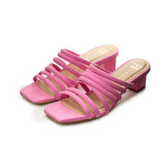 Bequem & chic: Slide 'Alejandra' in Rosa