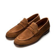Stilvoller Loafer in Wildleder