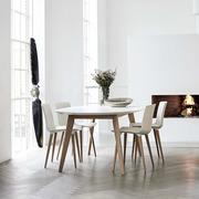 Ausziehtisch 'DK10' mit Holzbeinen
