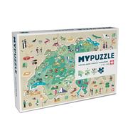 Puzzle 'Schweiz' für die Tage zu Hause