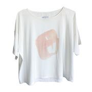 T-Shirt mit Print rosé von 'Claudia Nabholz'