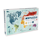 Entdeckungs-Puzzle 'World'