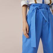 Blaue Bio-Baumwollhose von 'Closed'