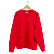 Shop local: Handbestickter Pulli