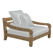 Entspannter Lounge-Sessel 'Jeko'