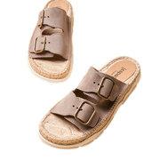 Lieblings-Sandale mit prägnanter Sohle