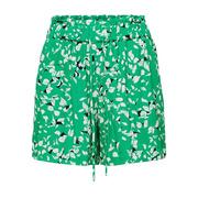 Luftige Shorts mit Botanikprint