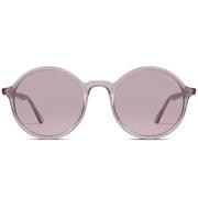 Runde Sonnenbrille in Lavendel