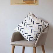 Handgestempeltes Kissen für dein Sofa