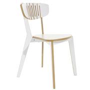'Luno' stapelbarer Stuhl